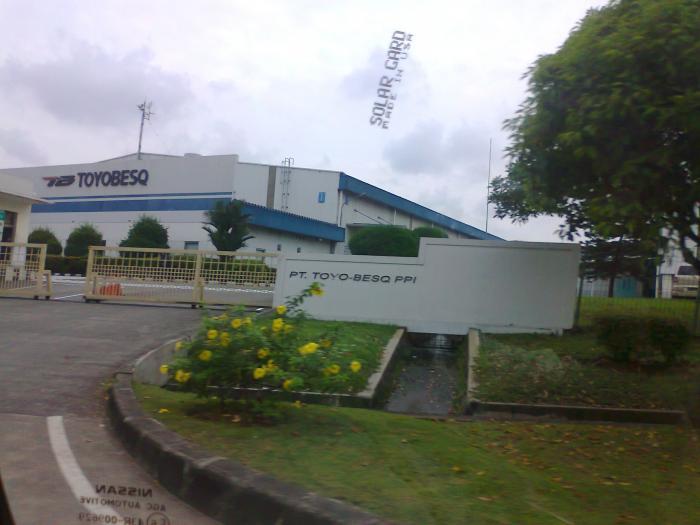 Lowongan Kerja Terbaru 2017 di KIIC KARAWANG PT Toyobesq Indonesia SMA/SMK