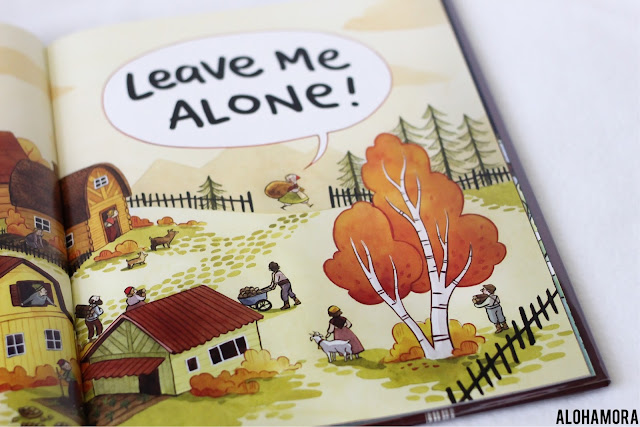 Leave Me Alone! by Vera Brosgol gets 4.5 out of 5 stars for this creative, fun, and definitely a little weird sci-fi like Caldecott Honor picture book.  Best for Kindergarten through 3rd grade with repetitious phrases.  Martians, wormholes, knitting. Alohamora Open a Book https://alohamoraopenabook.blogspot.com/