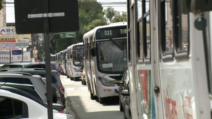 PROTESTO: Motoristas de transportes fazem protesto nesta quarta em JP.