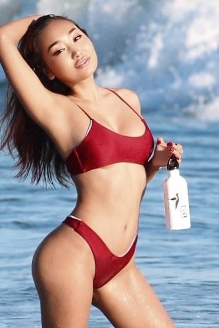 Nora Kyzy – 138 Water photoshoot in Malibu