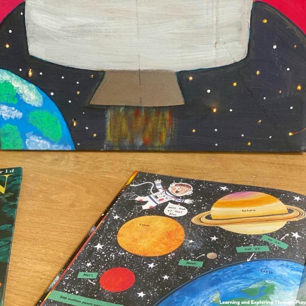 DIY Cardboard Space Rocket