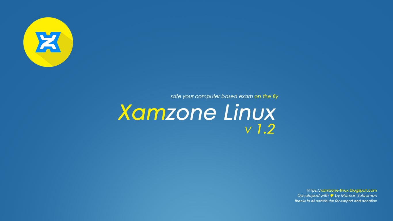 Xamzone Linux v1.2 Telah Dirilis [download/referensi]