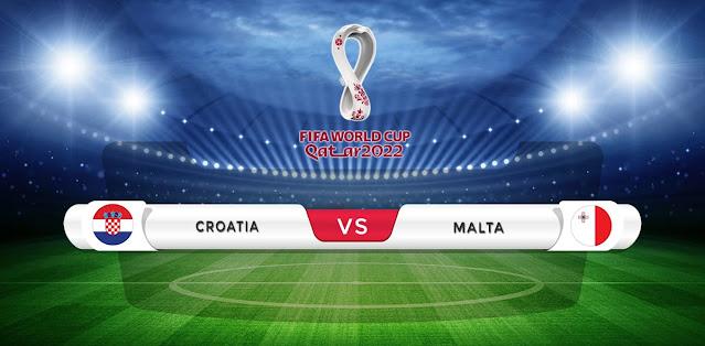 Croatia vs Malta Prediction & Match Preview