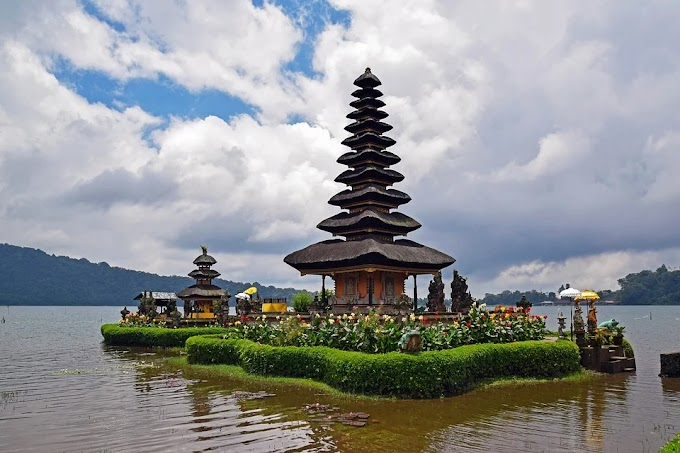 Famous and attractive Tourist place of Bali, Indonesia