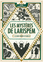 Couverture du livre Les mystères de Larispem de Lucie Pierrat-Pugeot