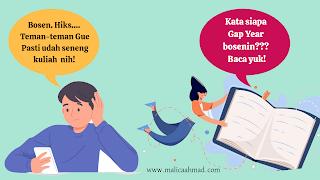 Aktivitas produktif saat gap year