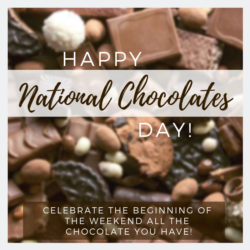 National Chocolate Day Wishes Beautiful Image
