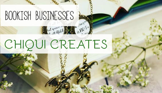 Literature & Fandom Inspired Jewelry from Chiqui Creates [Bookish Businesses]