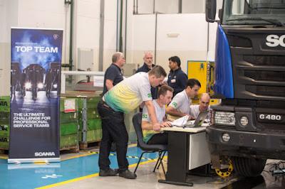 Scania faz torneio para incentivar pós-venda