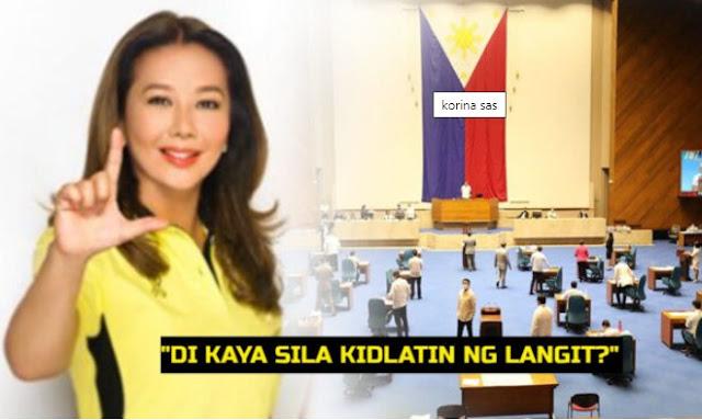 Korina Sanchez Binantaan ang Hindi Boboto Pabor sa Prankisa ng ABS-CBN