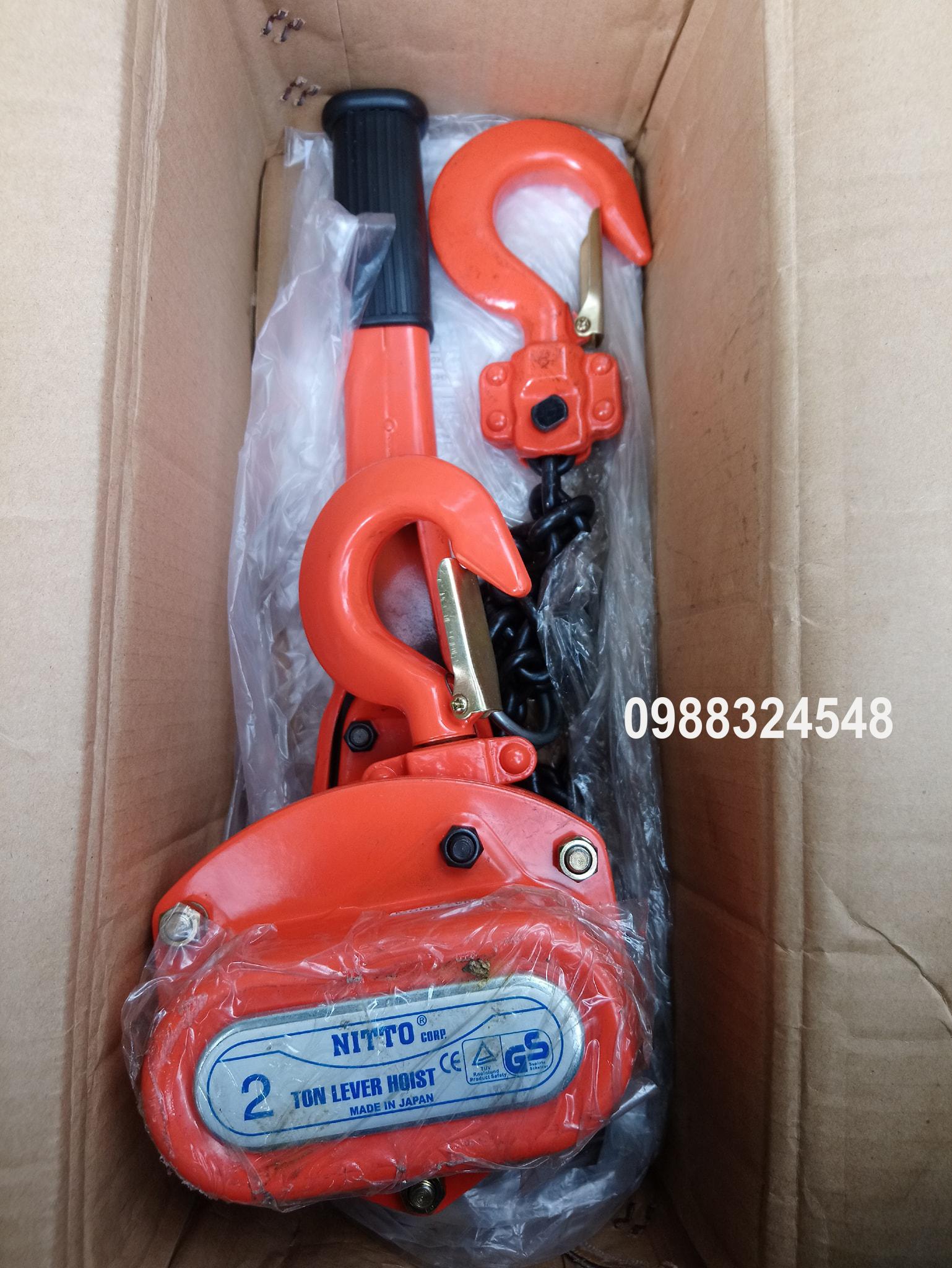 palang lắc tay Nitto VR-20 2 tấn