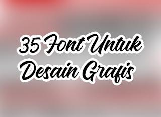 Font Keren Cocok Untuk Desain Grafis