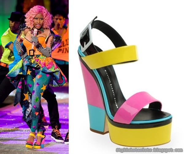 Nicki Minaj S Shoe Game Stylish Starlets