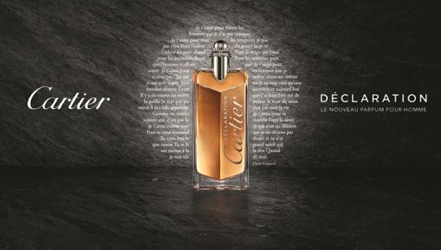 Oficjalne materiały Cartier Declaration Parfum