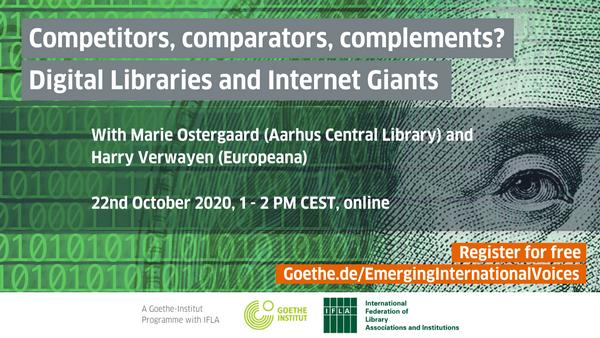 [FREE webinar] Digital Libraries and Internet Giants
