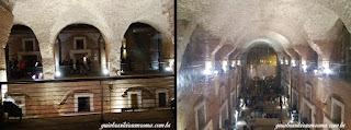 Salão central dos Mercados Traianos