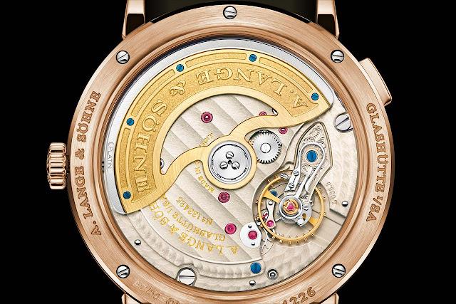 A. Lange & Söhne Saxonia Outsize Date with argenté dial 381.032