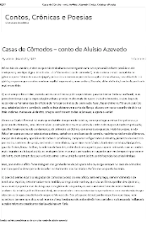 CASAS DE COMODOS - Aluisio Azevedo