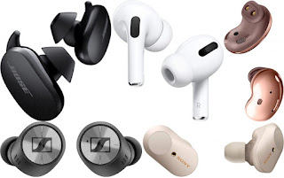 difference type of earbuds