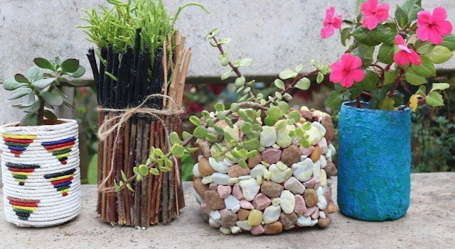 DIY plant Containers