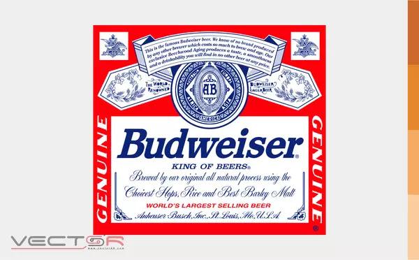 Budweiser (1987-1999) Label - Download Vector File AI (Adobe Illustrator)