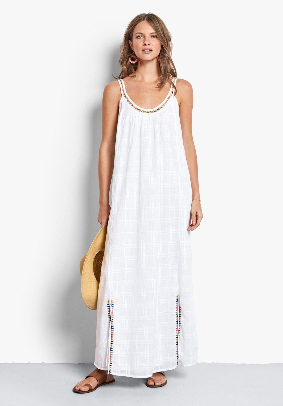 hush Kelsey embroidered dress