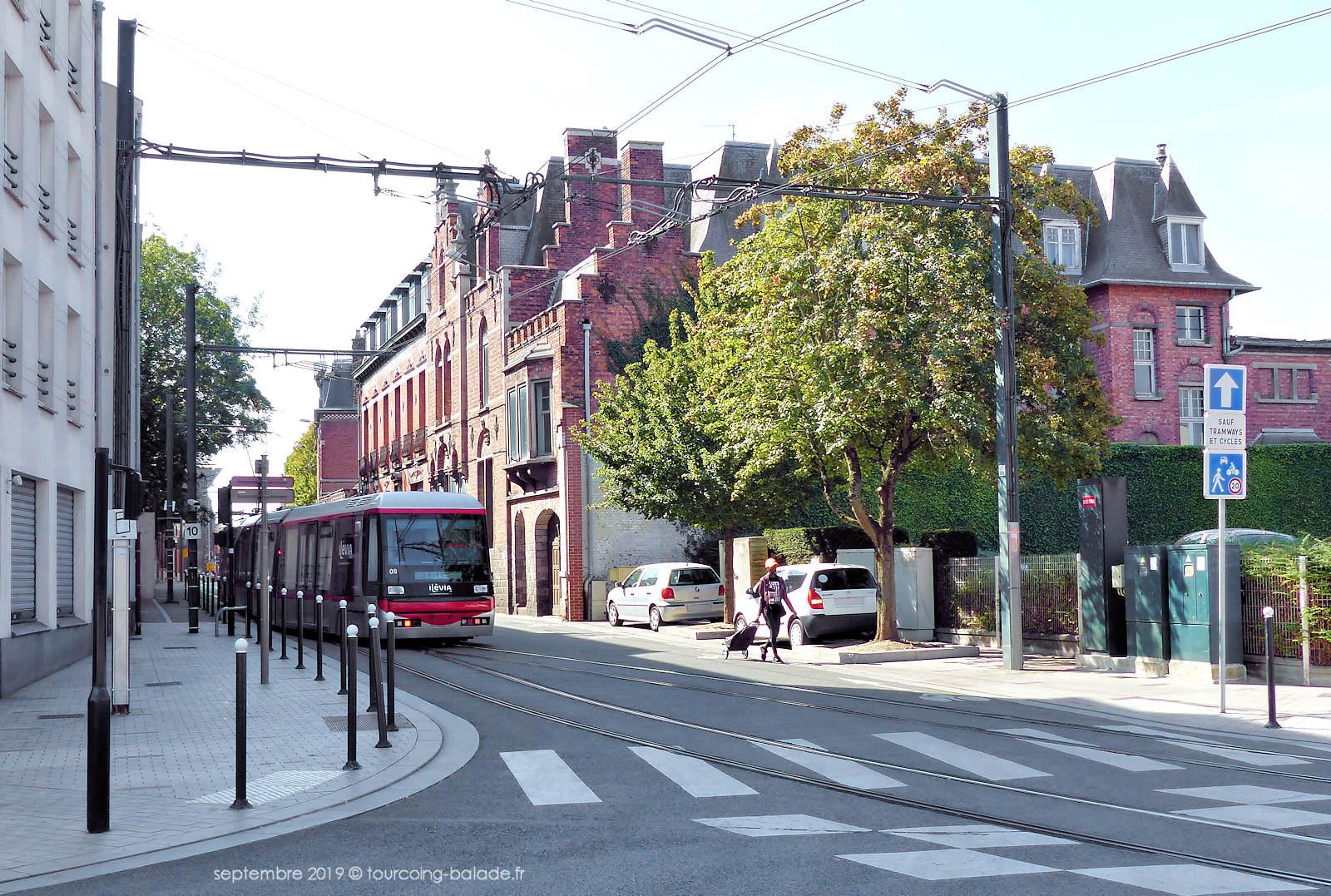 Tourcoing - Carrefour rues Chanzy et Lehoucq.