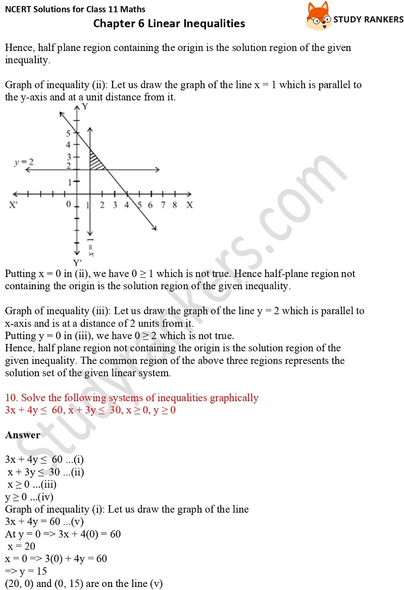 NCERT Solutions for Class 11 Maths Chapter 6 Linear Inequalities 25