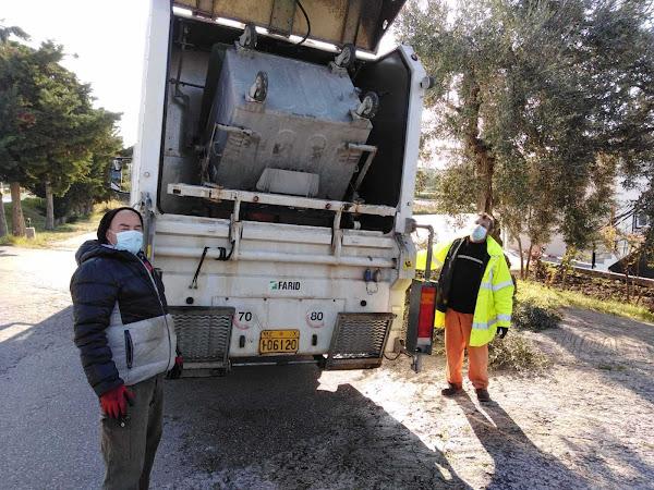 Σε εξέλιξη βρίσκεται από την υπηρεσία Καθαριότητας του Δήμου, ο καθαρισμός και η απολύμανση των κάδων απορριμμάτων