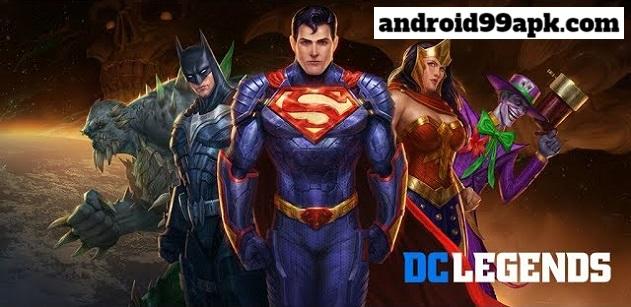 لعبة DC Comics Legends v1.26.1 مهكرة للأندرويد