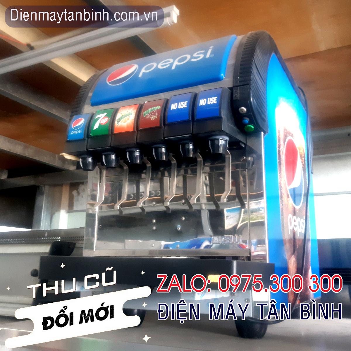 Bán thanh lý máy cũ, cho thuê máy pha nước ngọt Pepsi/Coca 6 vòi