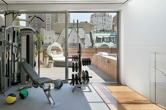 small home gym design ideas