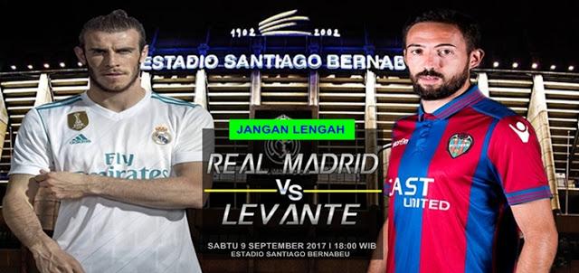 Real Madrid vs Levante 9 September 2017