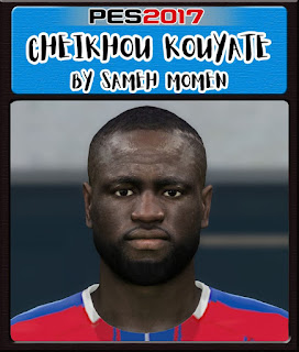 PES 2017 Faces Cheikhou Kouyaté by Sameh Momen
