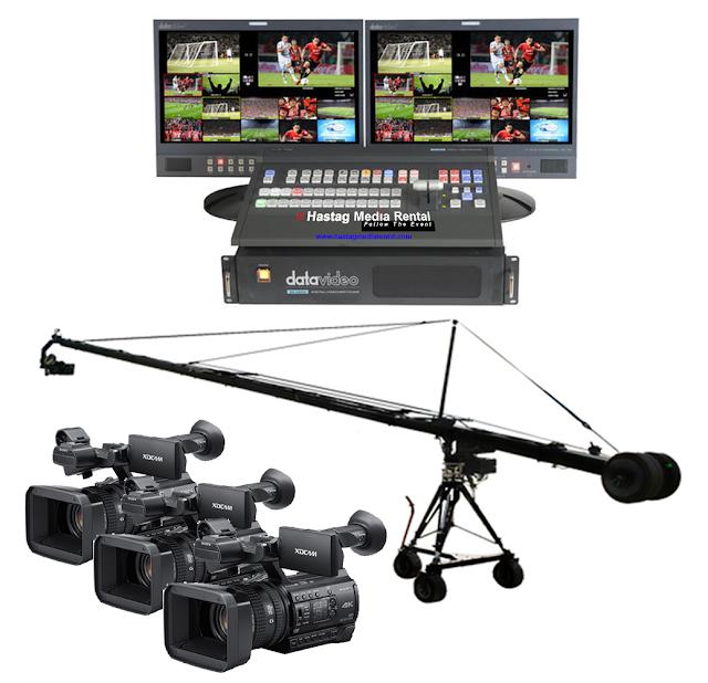 Sewa MULTICAM Full HD, JimmyJib, Switcher Digital