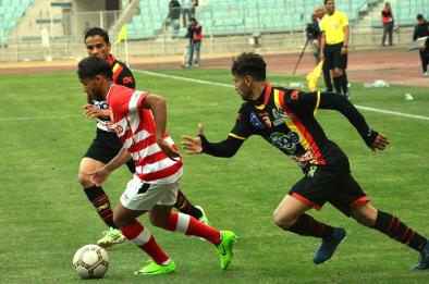 نتيجة مباراة هزيمة الإفريقي التونسي من نادى النجم الرياضى بالمثلوى الدوري التونسي لكرة القدم