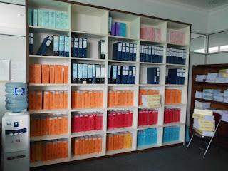 Lemari Kantor Kayu HPL + Furniture Semarang