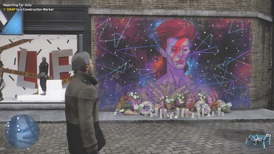 Graffiti with David Bowie