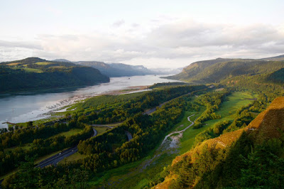 Columbia River Gorge, Vista House, Portland, Historic Columbia River Highway, US 30,