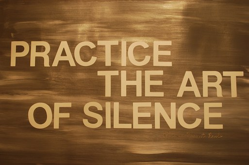 Health: Silence can be the best cure!