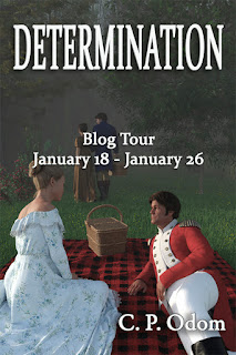 Blog Tour: Determination by C P Odom