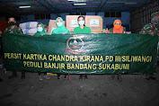 BPBD Sukabumi, Terima Bansos Dari Persit KCK PD III/Siliwangi