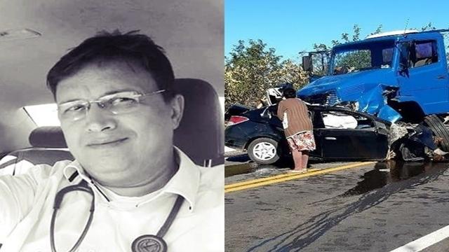 Médico Jorge Genuíno que atuava em Tabira e região morre vítima de acidente