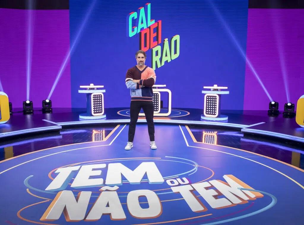 Marcos Mion já gravou o novo 'Caldeirão' que estreia no próximo dia 04/09