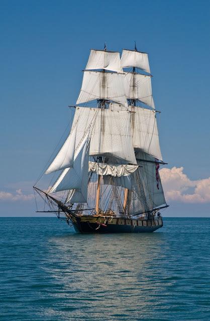 U.S. Brig Niagara image courtesy of Kenosha Tall Ships