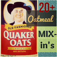 20+ Oatmeal Mix-In's