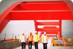 Jokowi Harap Pembangunan Jembatan Holtekamp Picu Perekonomian di Jayapura