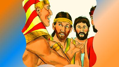 Irmãos não reconhecem José