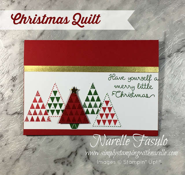 Christmas Cards made easy with these all inclusive kits - http://eepurl.com/c7qkQ1 - Simply Stamping with Narelle