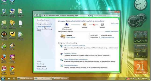 how to create a workgroup in windows 7